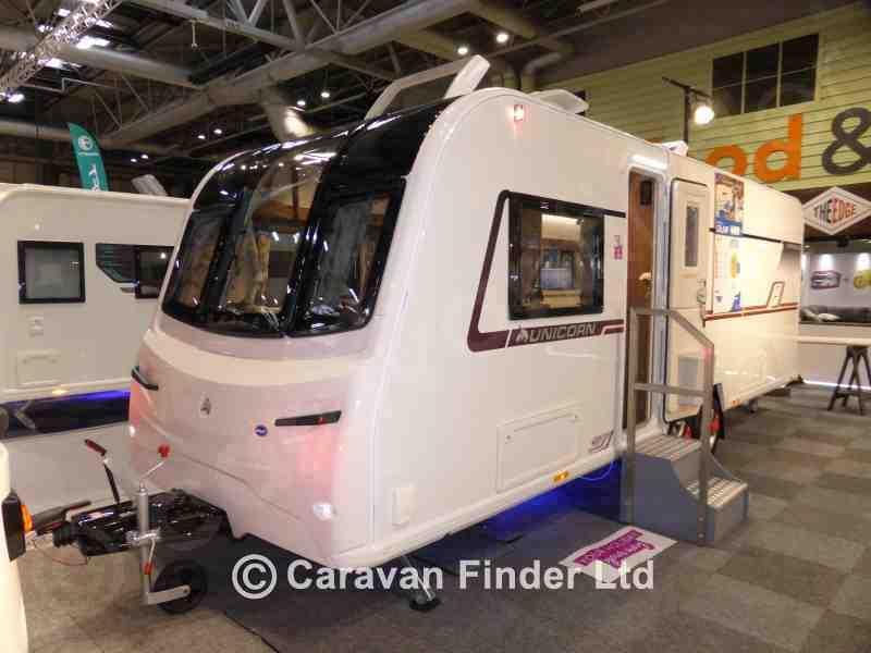 Dyce Caravans, New Bailey Unicorn Cartagena 2018 Caravan for