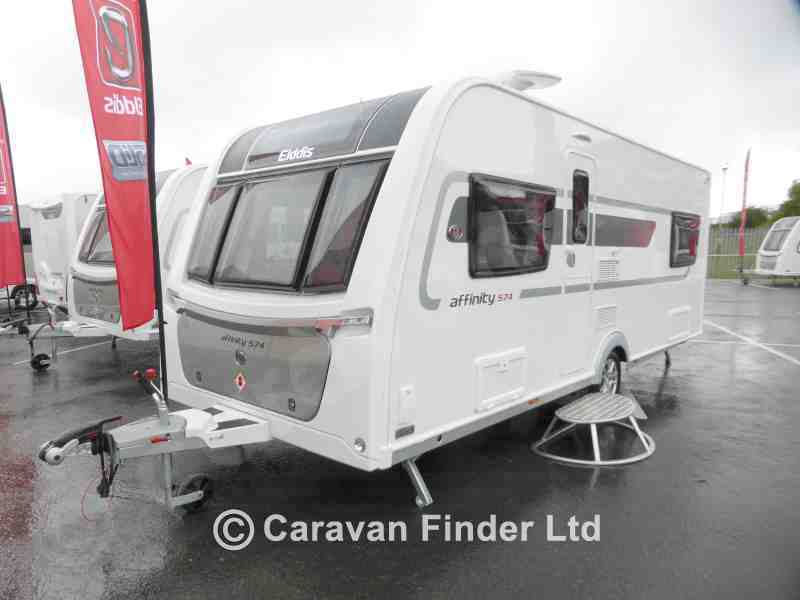 Dyce Caravans, New Elddis Affinity 574 2018 Caravan for sale