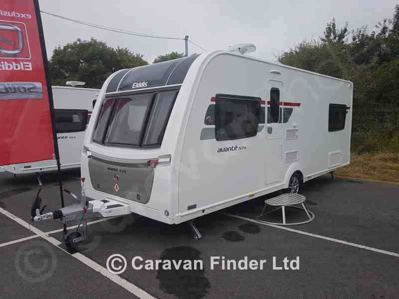 Pedleys Leisure, New Elddis Avante 574 2019 Caravan for sale