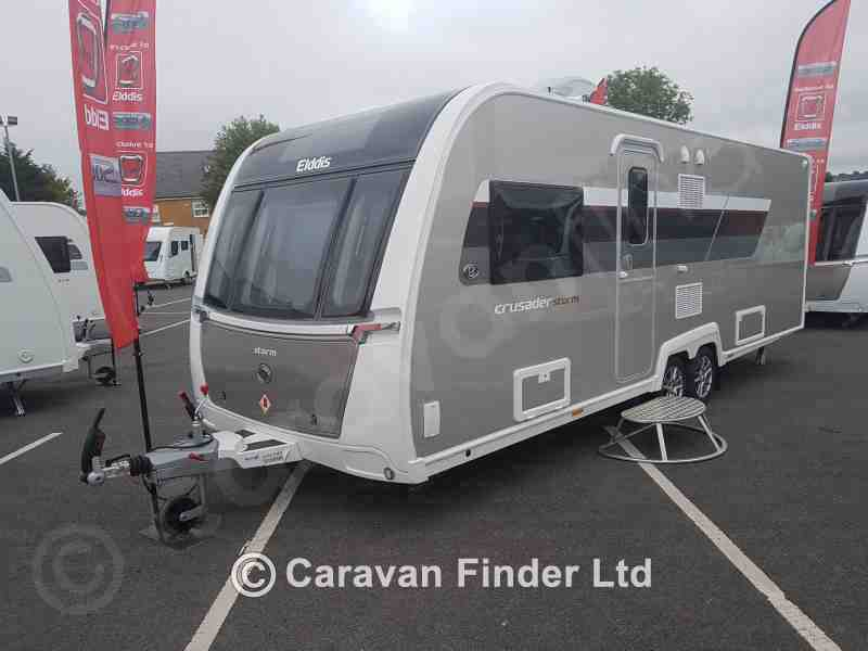 Pedleys Leisure, New Elddis Crusader Storm 2019 Caravan for