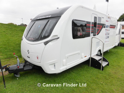 dee valley caravans, used sterling elite 580 2016 caravan
