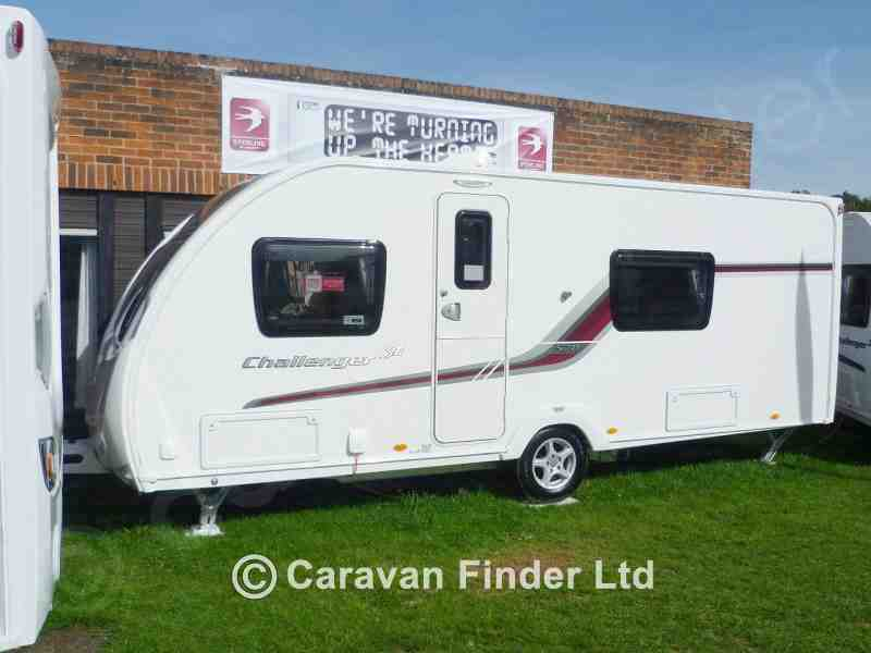 Dyce Caravans, Used Swift Challenger 570 SE 2013 Caravan for