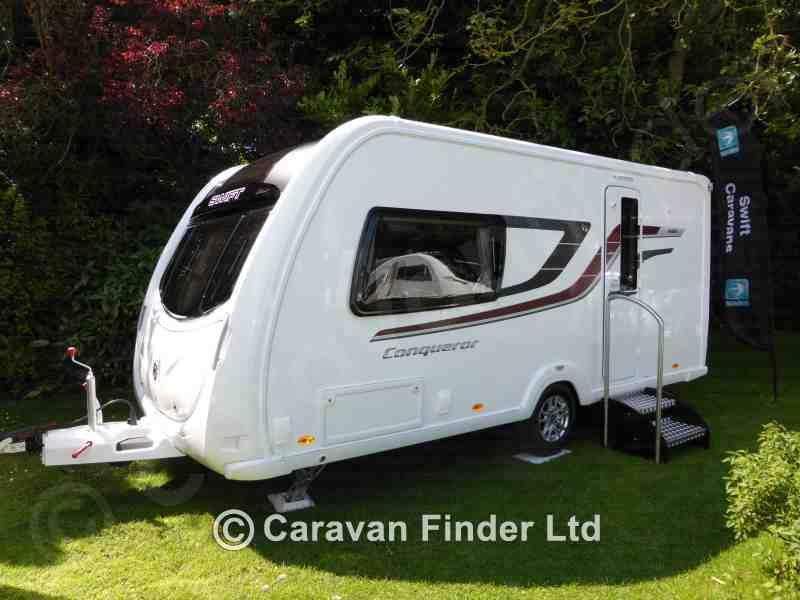 Teesside Caravans, Used Swift Conqueror 480 2b 2015 2015